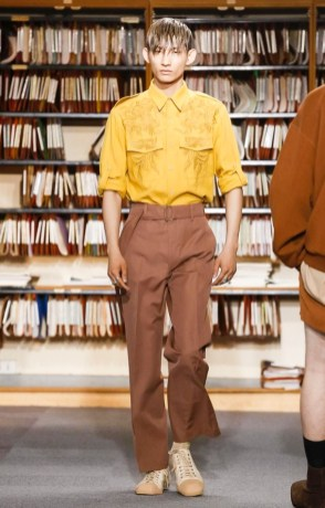 DRIES VAN NOTEN MENSWEAR SPRING SUMMER 2018 PARIS18