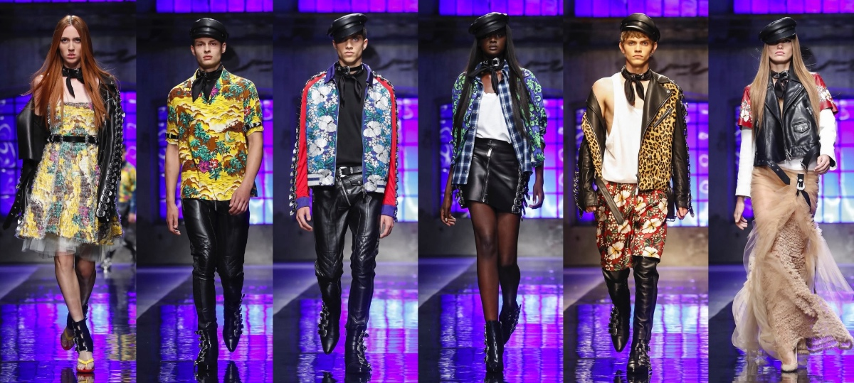 75111c8ebbd99a Dsquared2 Men   Women Spring Summer 2018 Milan - Fashionably Male
