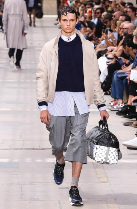 LOUIS VUITTON MENSWEAR SPRING SUMMER 2018 PARIS14