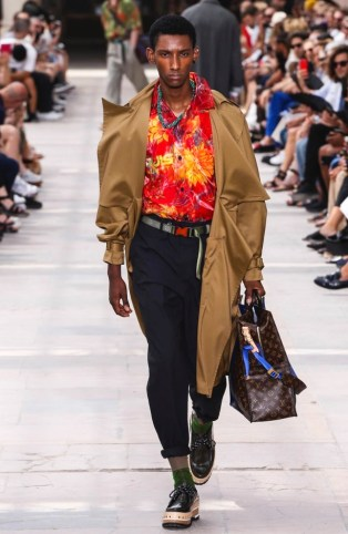 LOUIS VUITTON MENSWEAR SPRING SUMMER 2018 PARIS32