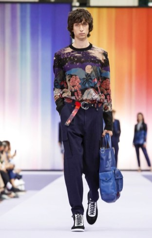 PAUL SMITH MENSWEAR SPRING SUMMER 2018 PARIS32