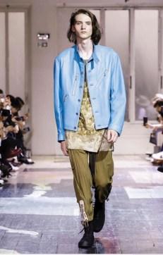 YOHJI YAMAMOTO MENSWEAR SPRING SUMMER 2018 PARIS12