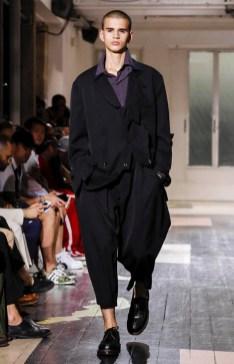 YOHJI YAMAMOTO MENSWEAR SPRING SUMMER 2018 PARIS15