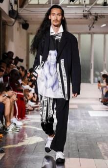 YOHJI YAMAMOTO MENSWEAR SPRING SUMMER 2018 PARIS23