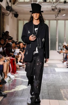 YOHJI YAMAMOTO MENSWEAR SPRING SUMMER 2018 PARIS36