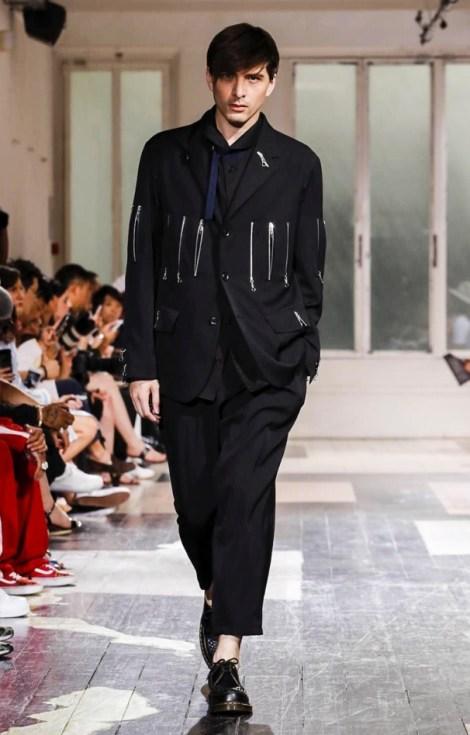 YOHJI YAMAMOTO MENSWEAR SPRING SUMMER 2018 PARIS40