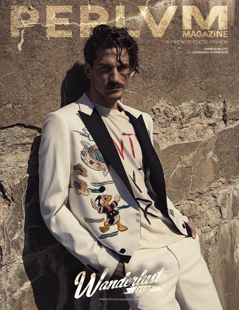 Jarrod Scott for Peplvm Magazine Cover