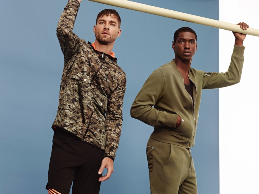 Andre Ziehe and Ronald Epps for 2XIST AW17 Campaign1