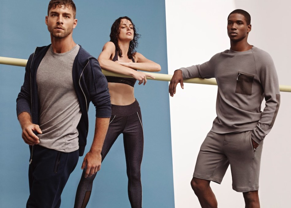 Andre Ziehe and Ronald Epps for 2XIST AW17 Campaign4
