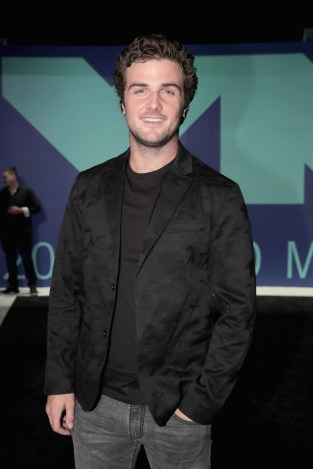 Beau Mirchoff attends the 2017 MTV Video Music Awards at The Forum on August 27, 2017 in Inglewood, California.