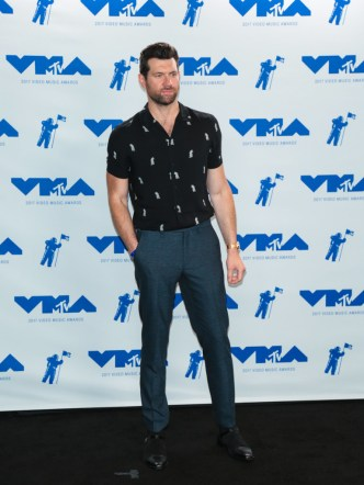 Billy Eichner attends the 2017 MTV Video Music Awards at The Forum on August 27, 2017 in Inglewood, California.