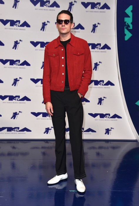 G-Easy attends the 2017 MTV Video Music Awards at The Forum on August 27, 2017 in Inglewood, California.