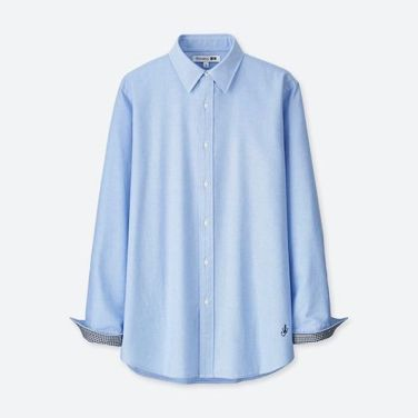 JWA Oxford Long-Sleeve Shirt $29.90