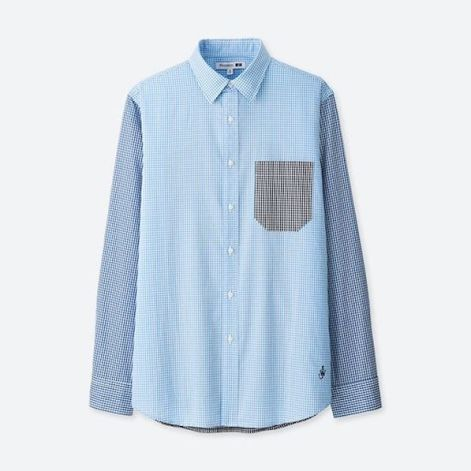 JWA Extra Fine Cotton Broadcloth Long-Sleeve Shirt $29.90