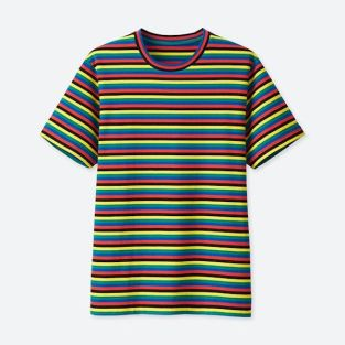 JWA Striped Short-Sleeve T-Shirt $14.90