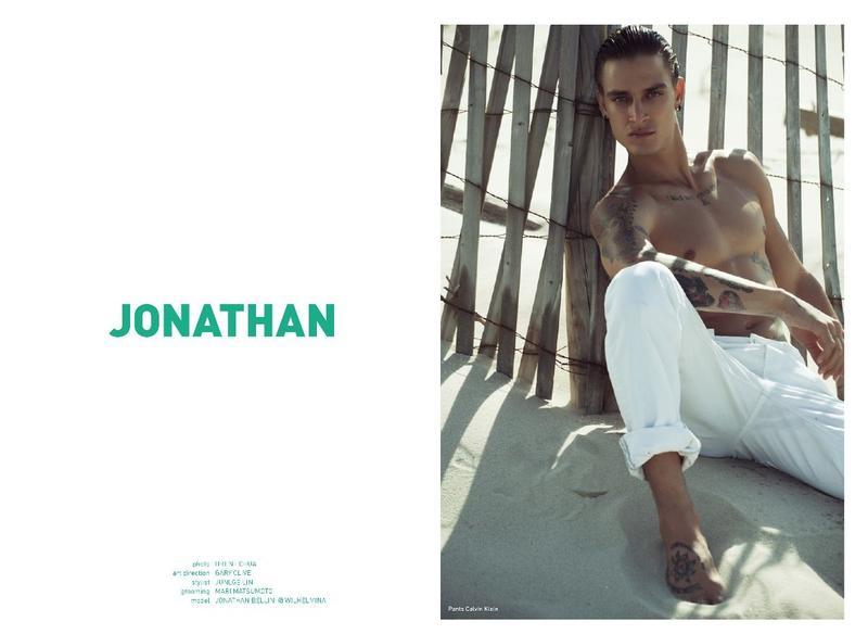 Jonathan Bellini on the cover Mandrawn Magazine| September 20172
