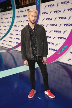 Ricky Dillon attends the 2017 MTV Video Music Awards at The Forum on August 27, 2017 in Inglewood, California.