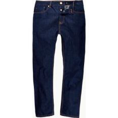 River Island Mens Dark wash high waisted slim jeans