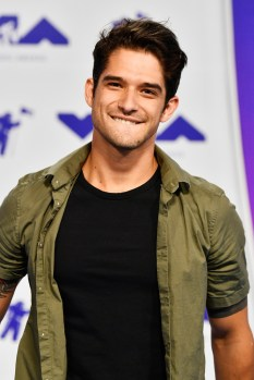 Tyler Posey attends the 2017 MTV Video Music Awards at The Forum on August 27, 2017 in Inglewood, California.
