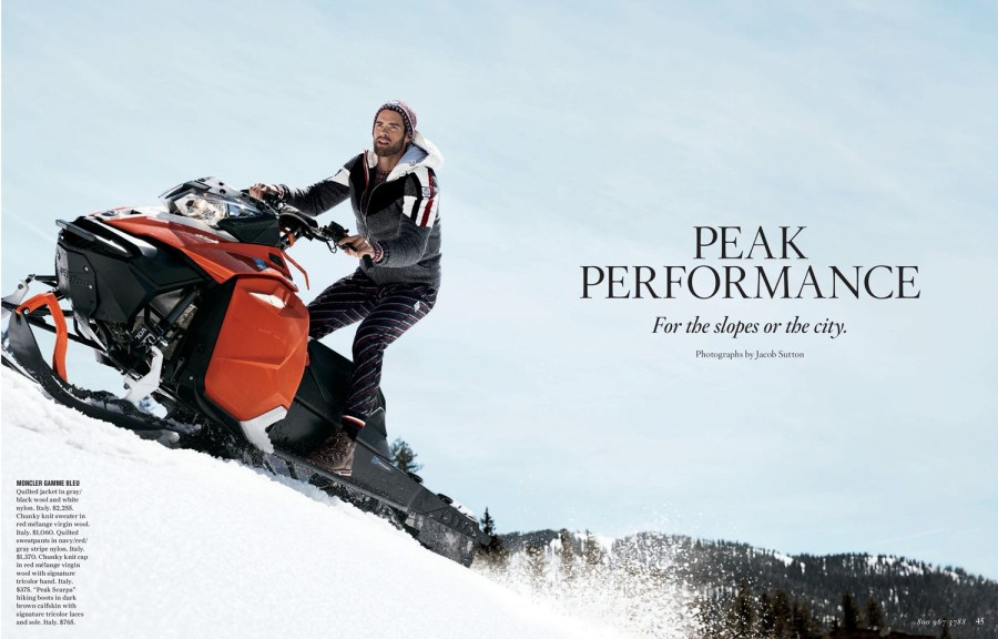 Chad White for Bergdorf Goodman Fall Collection 20171