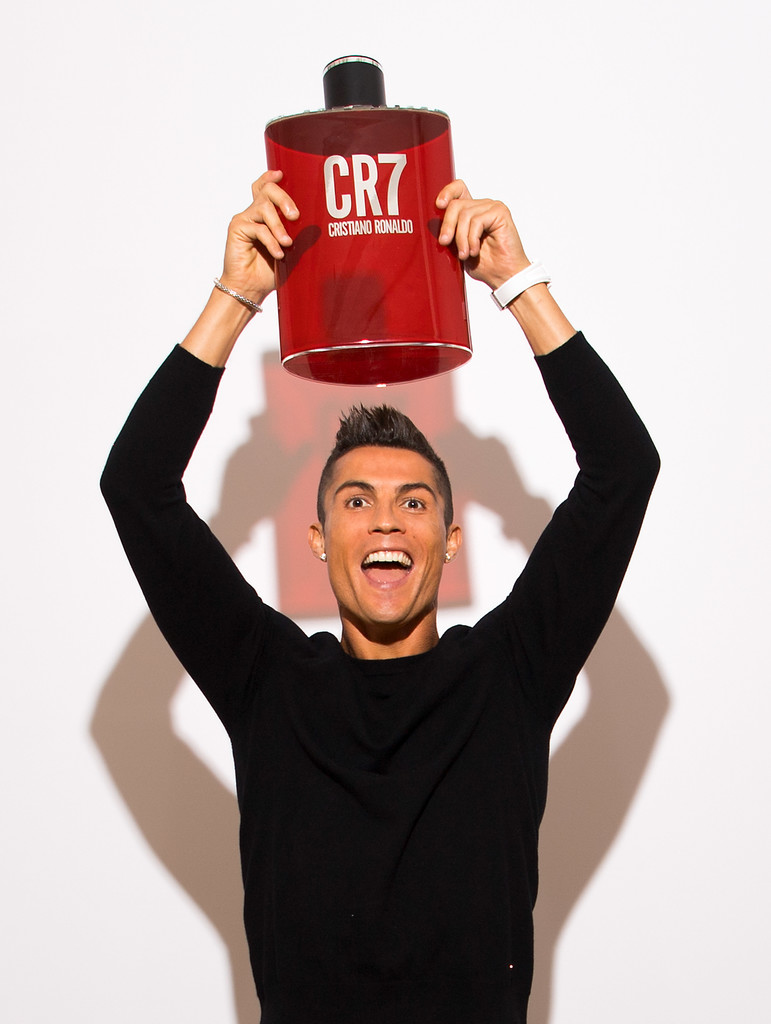 CR7 Cristiano Ronaldo Fragance Launch5