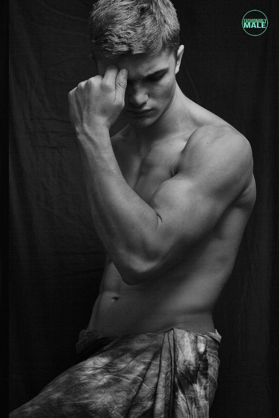 Freddie Pearson by José Pope for Fashionably Male8