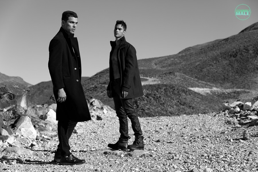 Augusto and Louis by Ivan Avila for Fashionably Male7