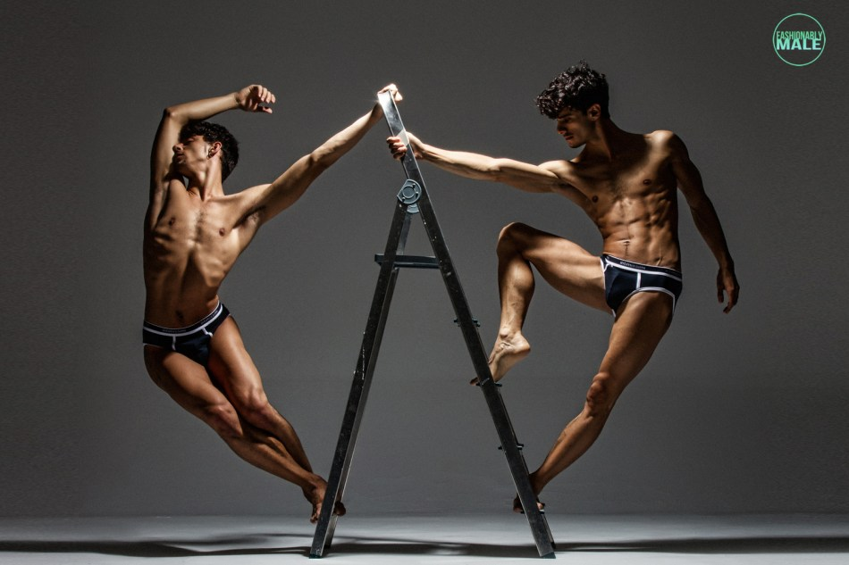 Daniel and Mihael by Joan Crisol for Fashionably Male10