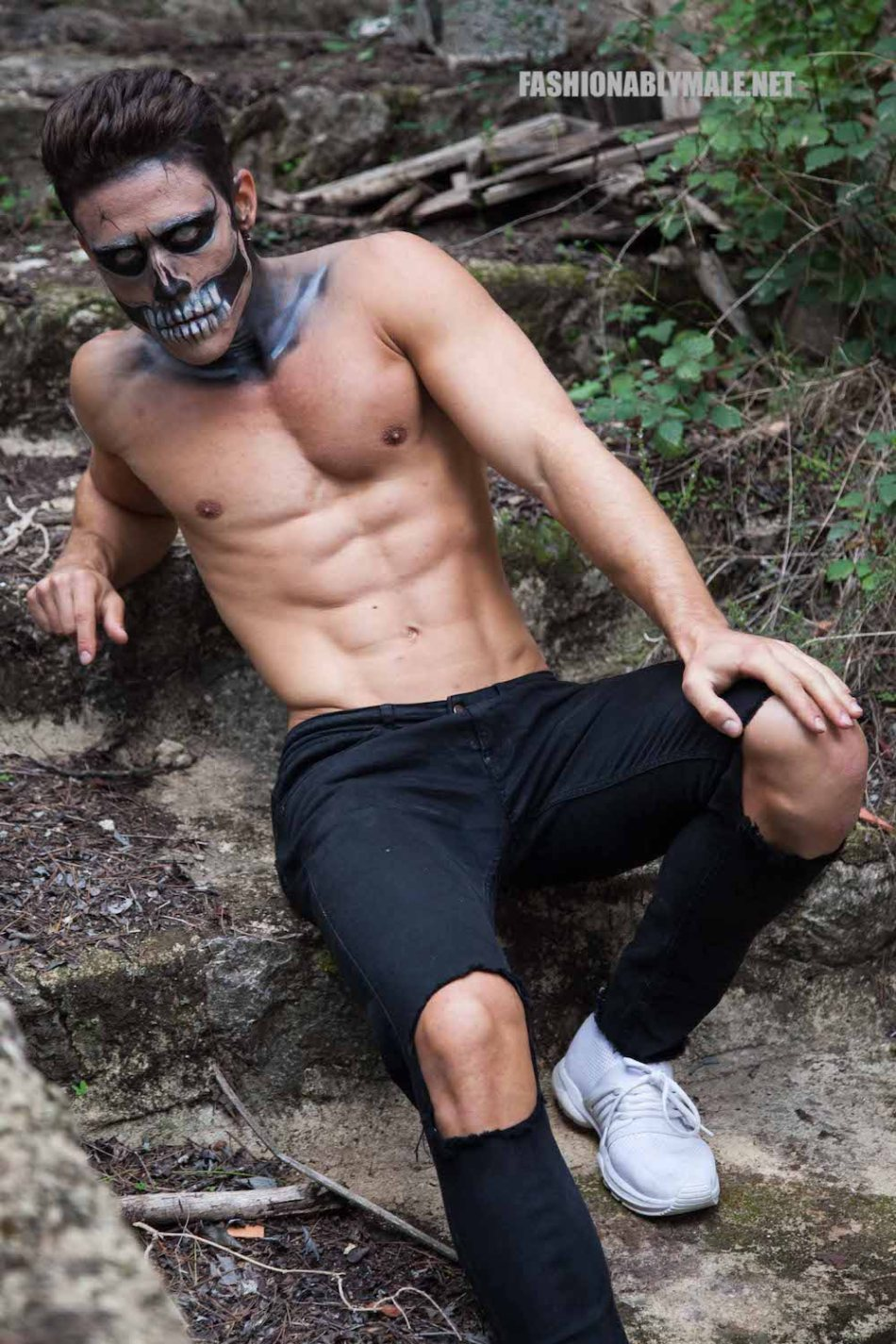 Halloween Skull Boy Borja by Jose Martinez19