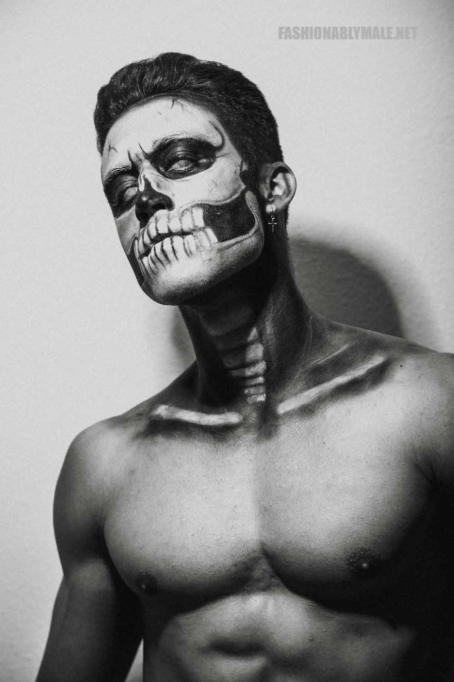 Halloween Skull Boy Borja by Jose Martinez3