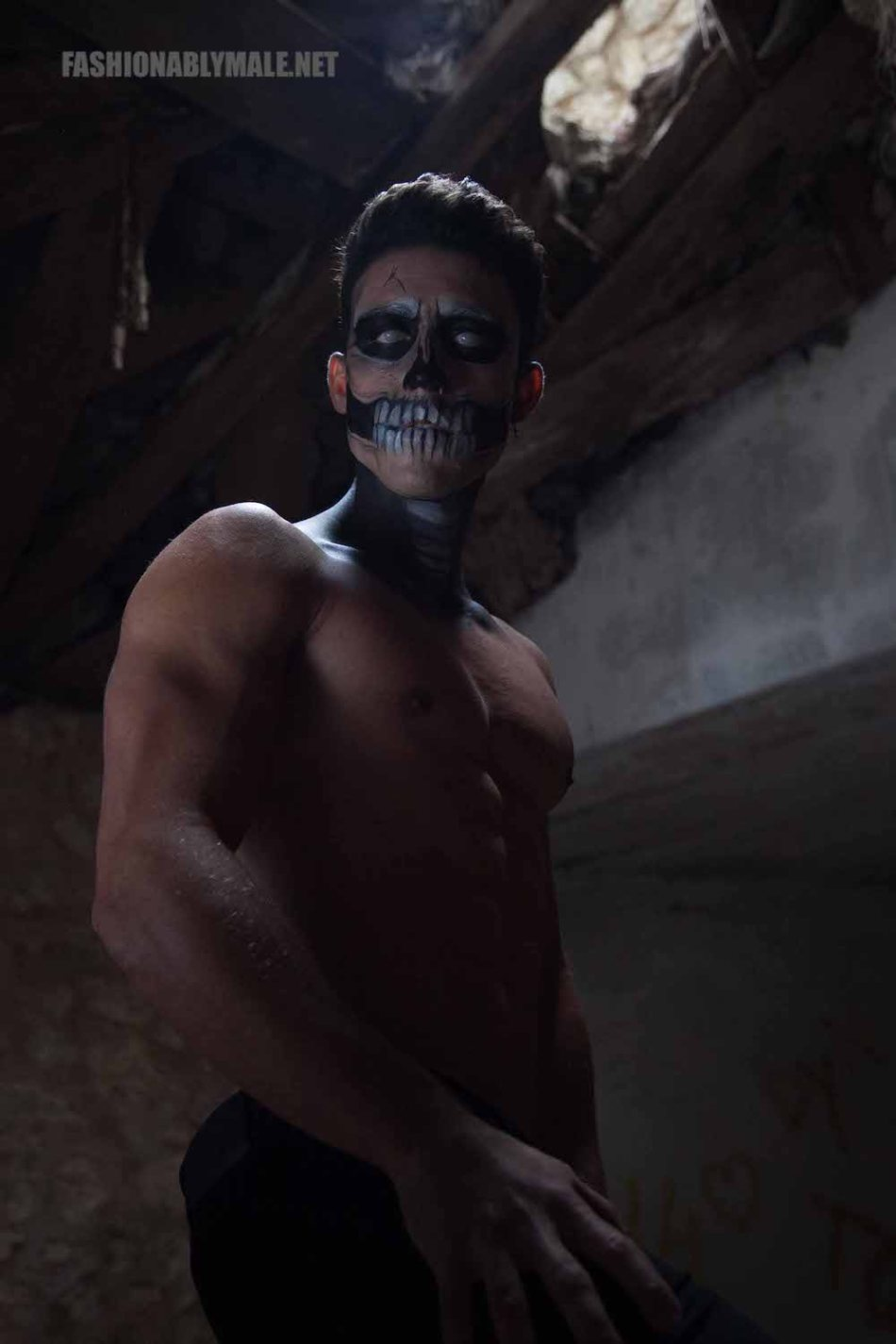 Halloween Skull Boy Borja by Jose Martinez8