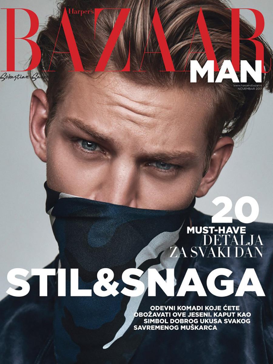 Sebastian Sauve by Christoph Klustch for Harpers Bazaar Serbia1