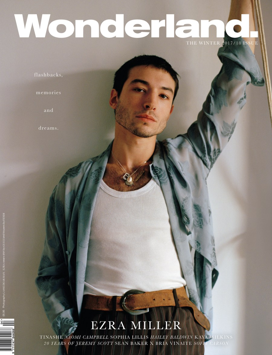 Ezra Miller Covers Wonderland Magazine AW17 Editorial9