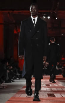 ALEXANDER MCQUEEN MENSWEAR FALL WINTER 2018 PARIS21