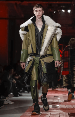 ALEXANDER MCQUEEN MENSWEAR FALL WINTER 2018 PARIS32