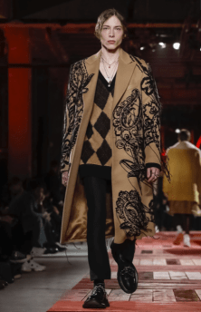 ALEXANDER MCQUEEN MENSWEAR FALL WINTER 2018 PARIS4