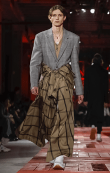 ALEXANDER MCQUEEN MENSWEAR FALL WINTER 2018 PARIS5