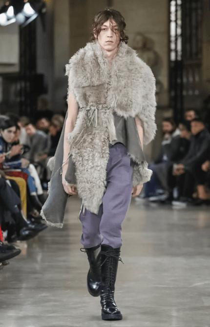 ANN DEMEULEMEESTER MENSWEAR FALL WINTER 2018 PARIS14