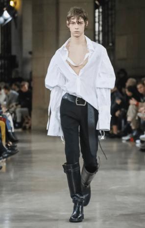 ANN DEMEULEMEESTER MENSWEAR FALL WINTER 2018 PARIS21