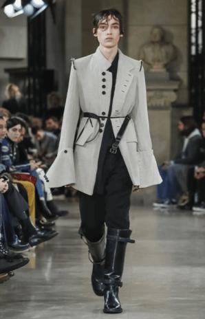 ANN DEMEULEMEESTER MENSWEAR FALL WINTER 2018 PARIS7