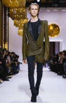 BALMAIN HOMME MENSWEAR FALL WINTER & WOMEN PREFALL 2018 PARIS12