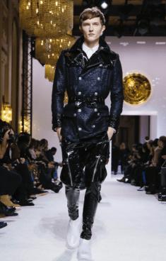 BALMAIN HOMME MENSWEAR FALL WINTER & WOMEN PREFALL 2018 PARIS68