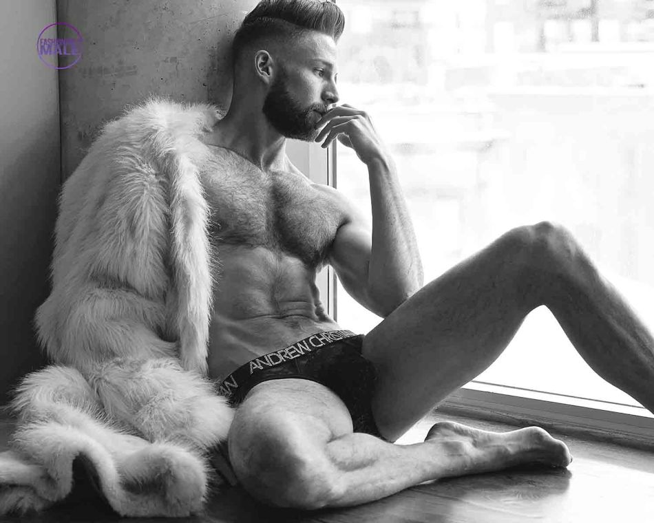 Brock Williams by KJ Heath for Fashionably Male2