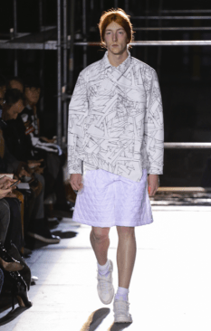 COMME DES GARCONS HOMME PLUS MENSWEAR FALL WINTER 2018 PARIS30