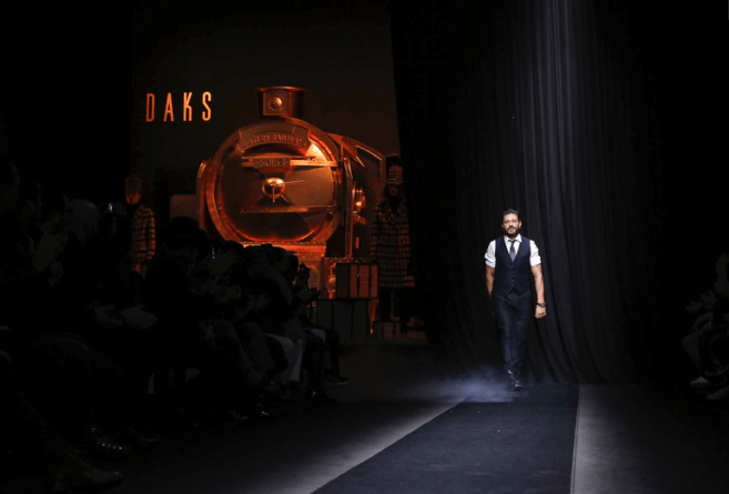 DAKS MENSWEAR FALL WINTER 2018 MILAN26