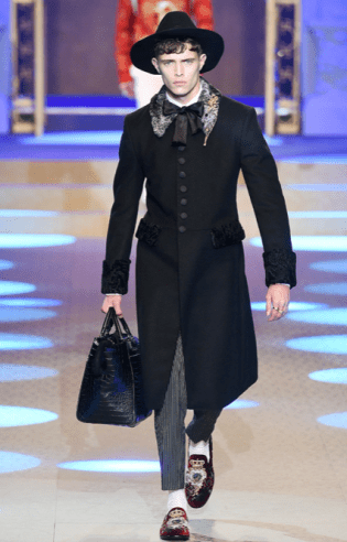 DOLCE & GABBANA MENSWEAR FALL WINTER 2018 MILAN20