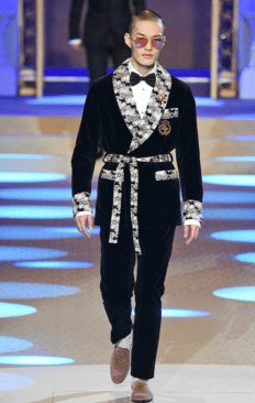 DOLCE & GABBANA MENSWEAR FALL WINTER 2018 MILAN4