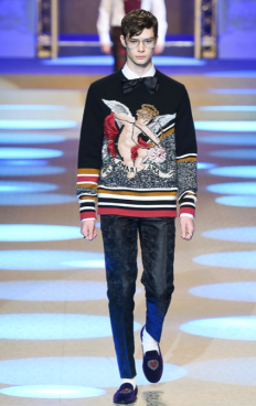 DOLCE & GABBANA MENSWEAR FALL WINTER 2018 MILAN40