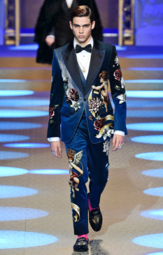 DOLCE & GABBANA MENSWEAR FALL WINTER 2018 MILAN87