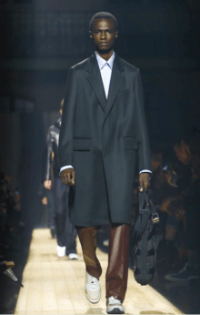 DUNHILL MENSWEAR FALL WINTER 2018 PARIS38